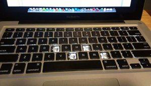 Conserto Teclado Mac